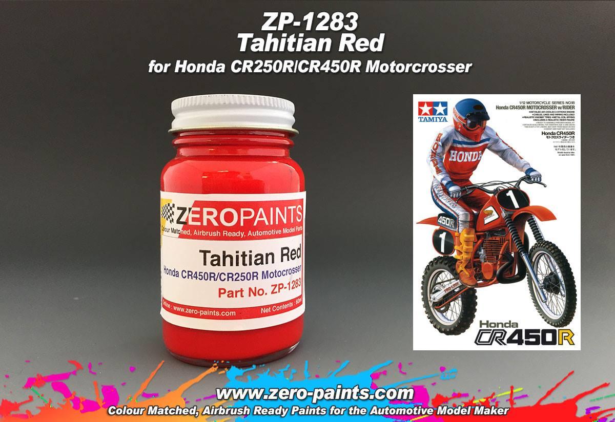 Honda Red Spray Paint
