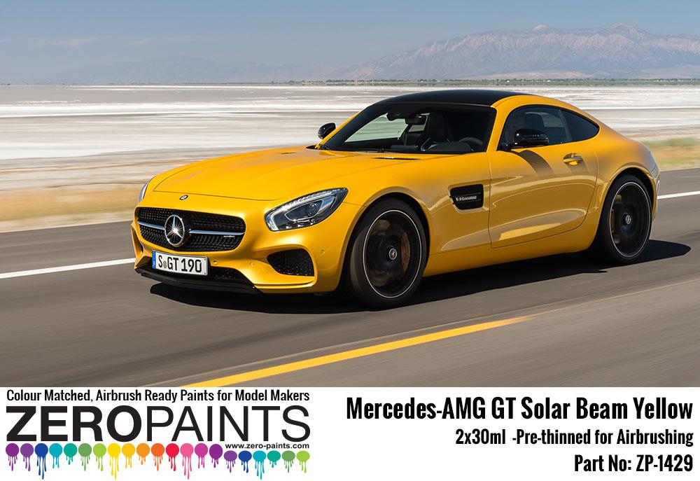 Mercedes Spray Paints