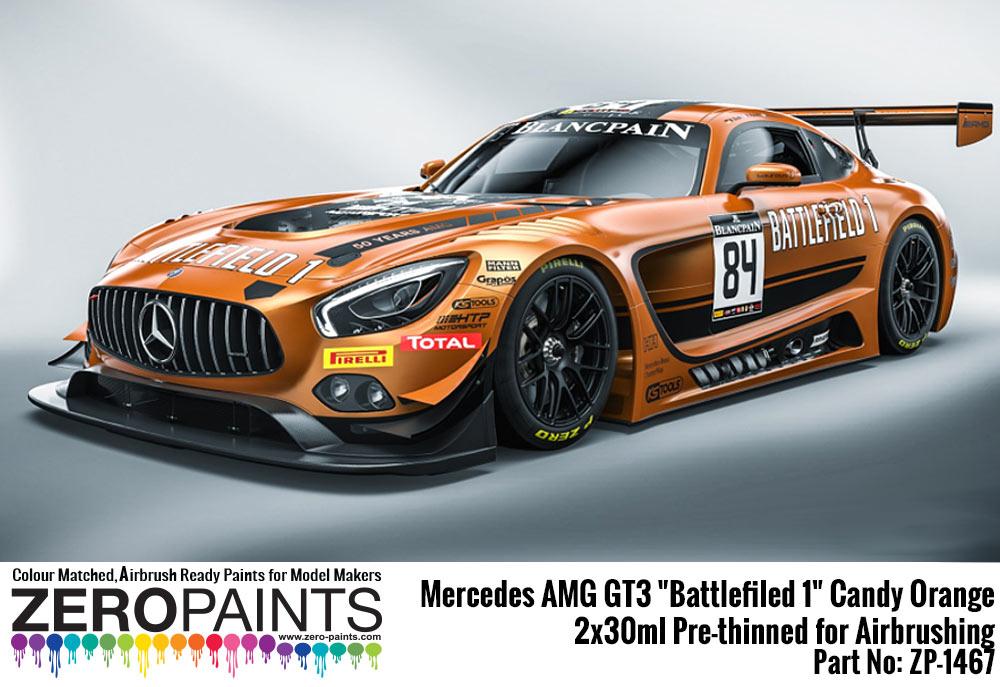 Mercedes Amg Gt3 Quot Battlefiled 1 Quot Candy Orange Paint 2x30ml