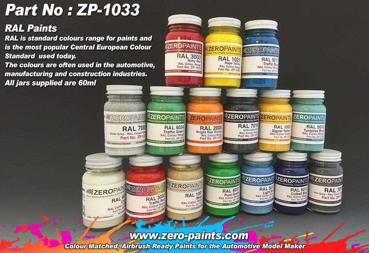 Ral Paints 60ml Zp 1033 Zero Paints