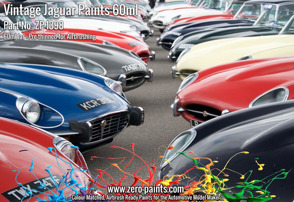 Vintage Jaguar Paints E Type Etc 60ml Zp 1398 Zero